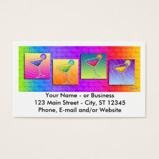Business Card - Pop Art Margaritas
