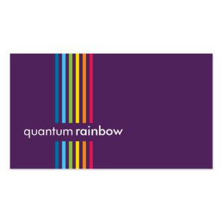 BUSINESS CARD :: rainbowed stripe 5