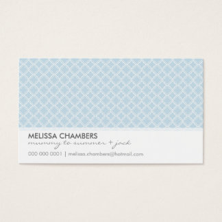 BUSINESS CARD :: simplistic-pattern 1L