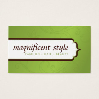 BUSINESS CARD :: stylish magnificence 9