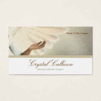 Business Card Template - Beautiful Angel Painting