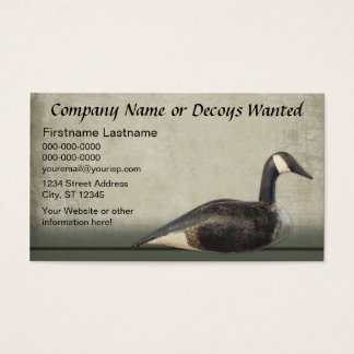 Business Card Template: Decoy Business