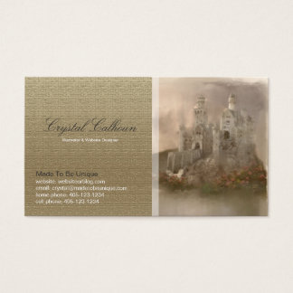 Business Card Template - Fantasy Castle