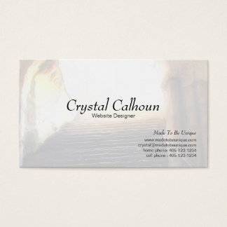 Business Card Template - Path to Light