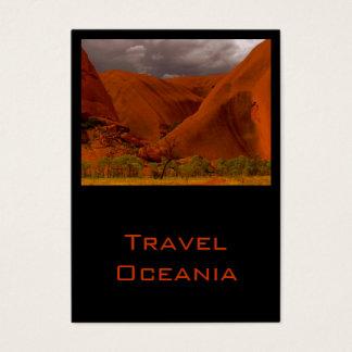 Business Card Travel Oceania