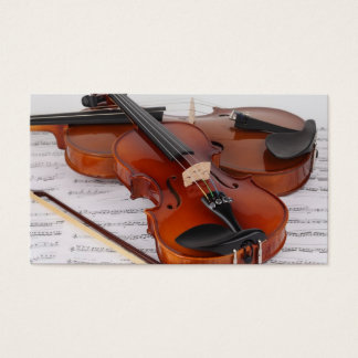 Business Card: Violin Lessons Business Card