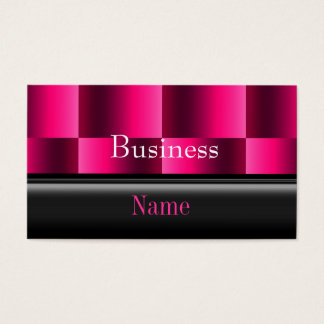 Business Card Zizzago Rich Pink Reflect