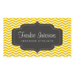 business cards > chevron2 [charcoal:yellow]