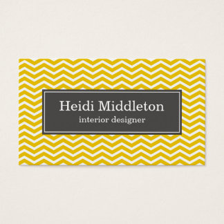 business cards > chevron [charcoal:yellow]