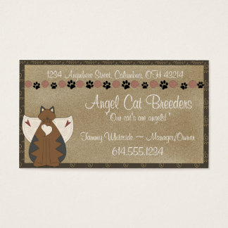 Business Cards :: Country Angel Cat
