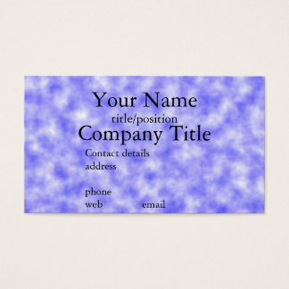 Business cards Design Your Own, Blue Sky