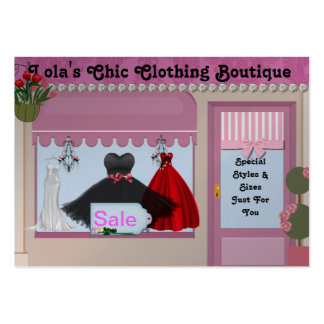 Business Cards FASHION Chic  Boutique