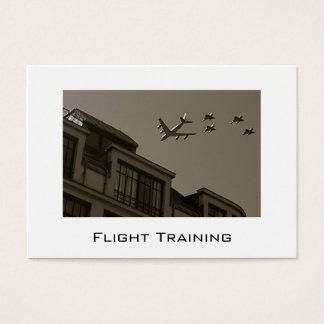 Business Cards Flight Training
