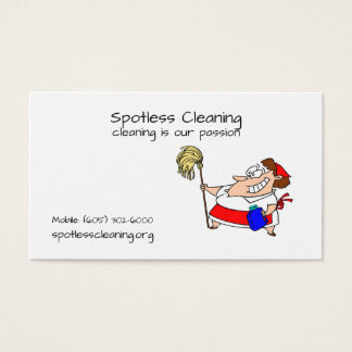 Business Cards for Cleaning Companies