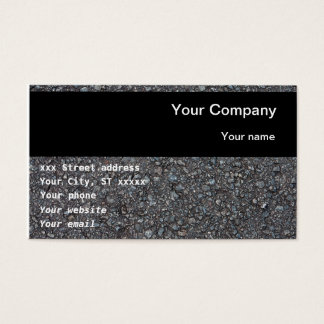 Business cards for construction industry