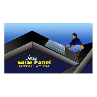 Business Cards for Solar Panels