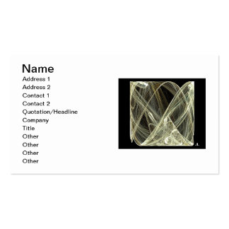 Business cards - ice cube