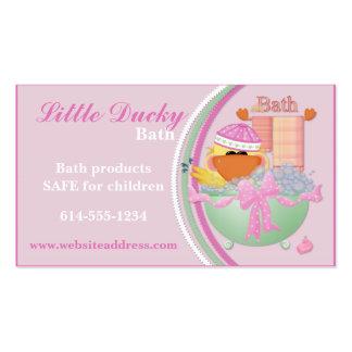 Business Cards : Little Ducky Bath Children Design