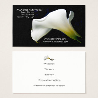 Business Cards: with a touch of Class/Nature Business Card