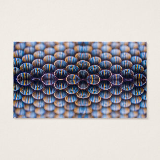 Business Cards with Honeycomb Design