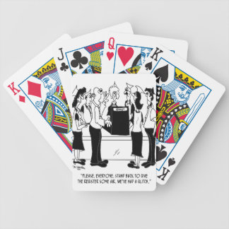 Business Cartoon 8453 Bicycle Playing Cards