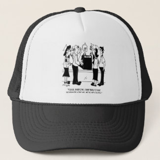 Business Cartoon 8453 Trucker Hat