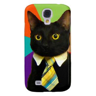 business cat - black cat