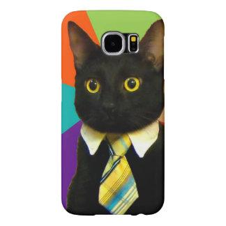business cat - black cat samsung galaxy s6 cases