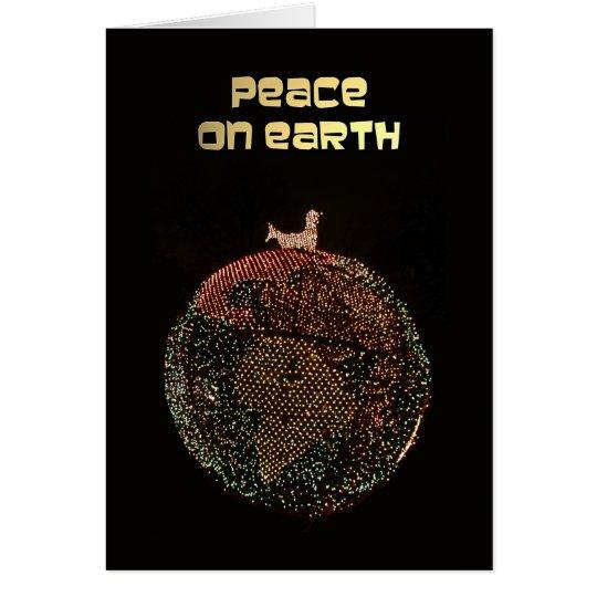 Business Christmas Card Peace