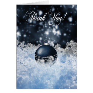 Business Christmas Thank You Card - Seasons' Greet