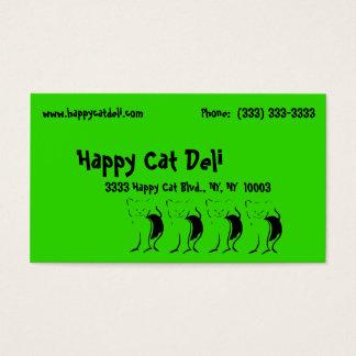 Business Commercial Deli Food Restaurant Cafe Business Card
