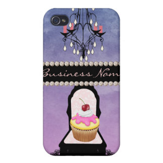 Business Cupcake Design iPhone 4 Covers