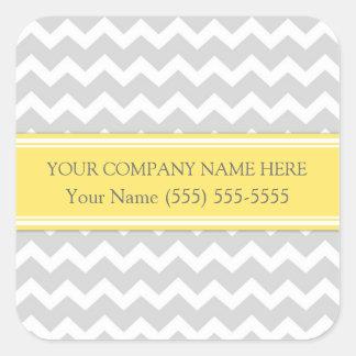 Business Custom Company Name Stickers Chevron