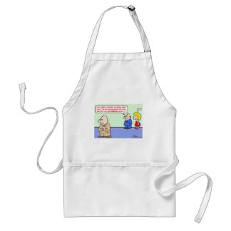 business decision dithering adult apron