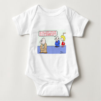 business decision dithering baby bodysuit