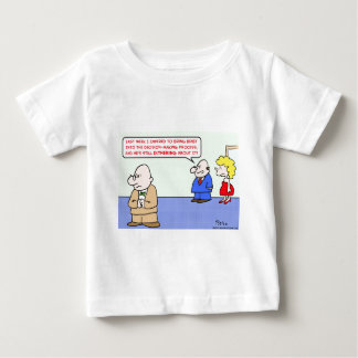 business decision dithering baby T-Shirt