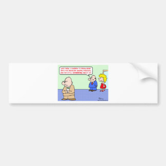 business decision dithering bumper sticker