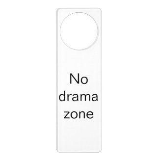 Business Door Hanger, Honest Saying Door Hanger