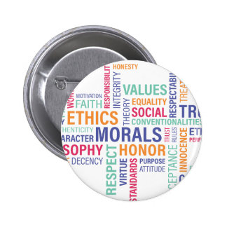 """""""Business Ethics"""" 2 Inch Round Button"""