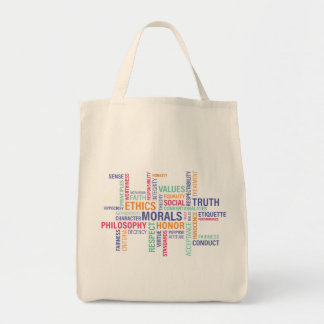 """Business Ethics"" Tote Bag"