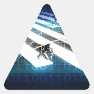 Business Incubator for Startup Triangle Sticker