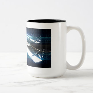 Business Incubator for Startup Two-Tone Coffee Mug