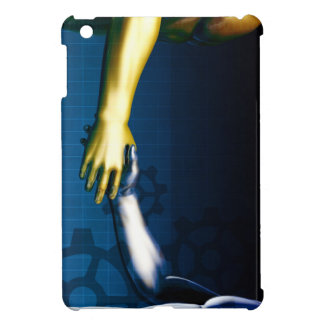 Business Integration Network with Hands Shaking iPad Mini Cover