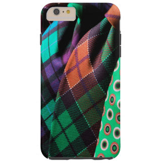 Business Masculine Funky Ties Colorful Manly Tough iPhone 6 Plus Case