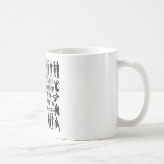 Business People Silhouettes Big Set Coffee Mug