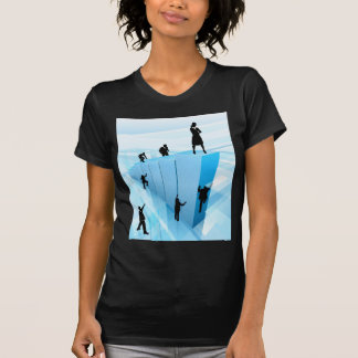 Business People Silhouettes Success Concept T-Shirt