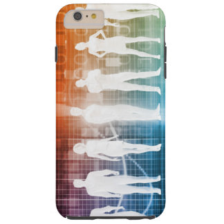 Business People Standing in a Row Confident Tough iPhone 6 Plus Case