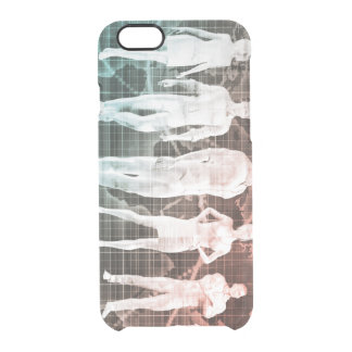 Business People Working Together on an Internation Clear iPhone 6/6S Case