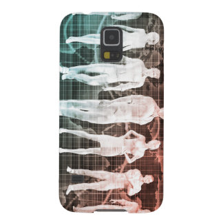 Business People Working Together on an Internation Galaxy S5 Case