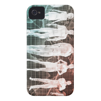 Business People Working Together on an Internation iPhone 4 Cover